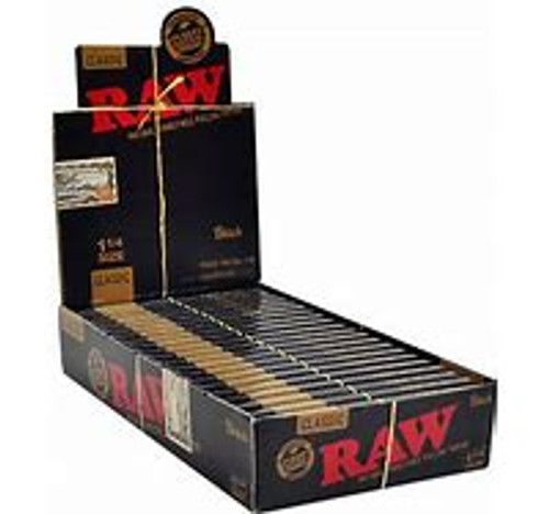 Raw Rolling Paper Black Series (3PK)