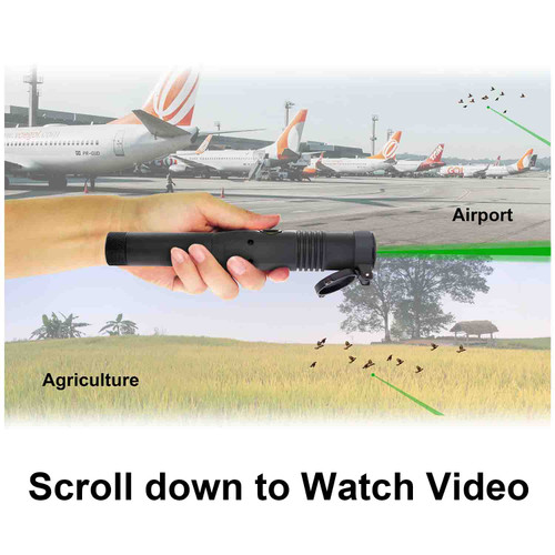 Beamshot BR100 Bird Repellent Tool is intended to be used at  Airport or Agriculture