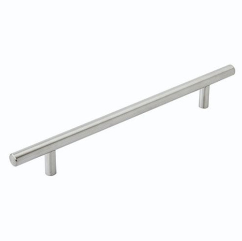 Amerock Bar Pull 7-9/16 in (192mm) CTC Stainless Steel (AM36802SS)