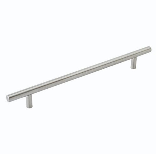 Amerock Bar Pull 8-13/16 in (224mm) CTC Stainless Steel (AM36803SS)