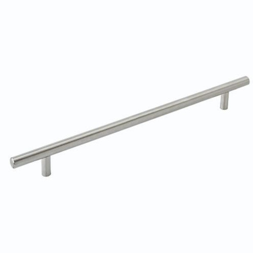 Amerock Bar Pull 10-1/16 in (256mm) CTC Stainless Steel (AM36804SS)