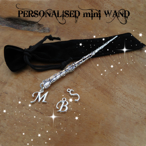 Personalised Wand Ideal gift for Harry Potter or Fantastic Beast fans under £10