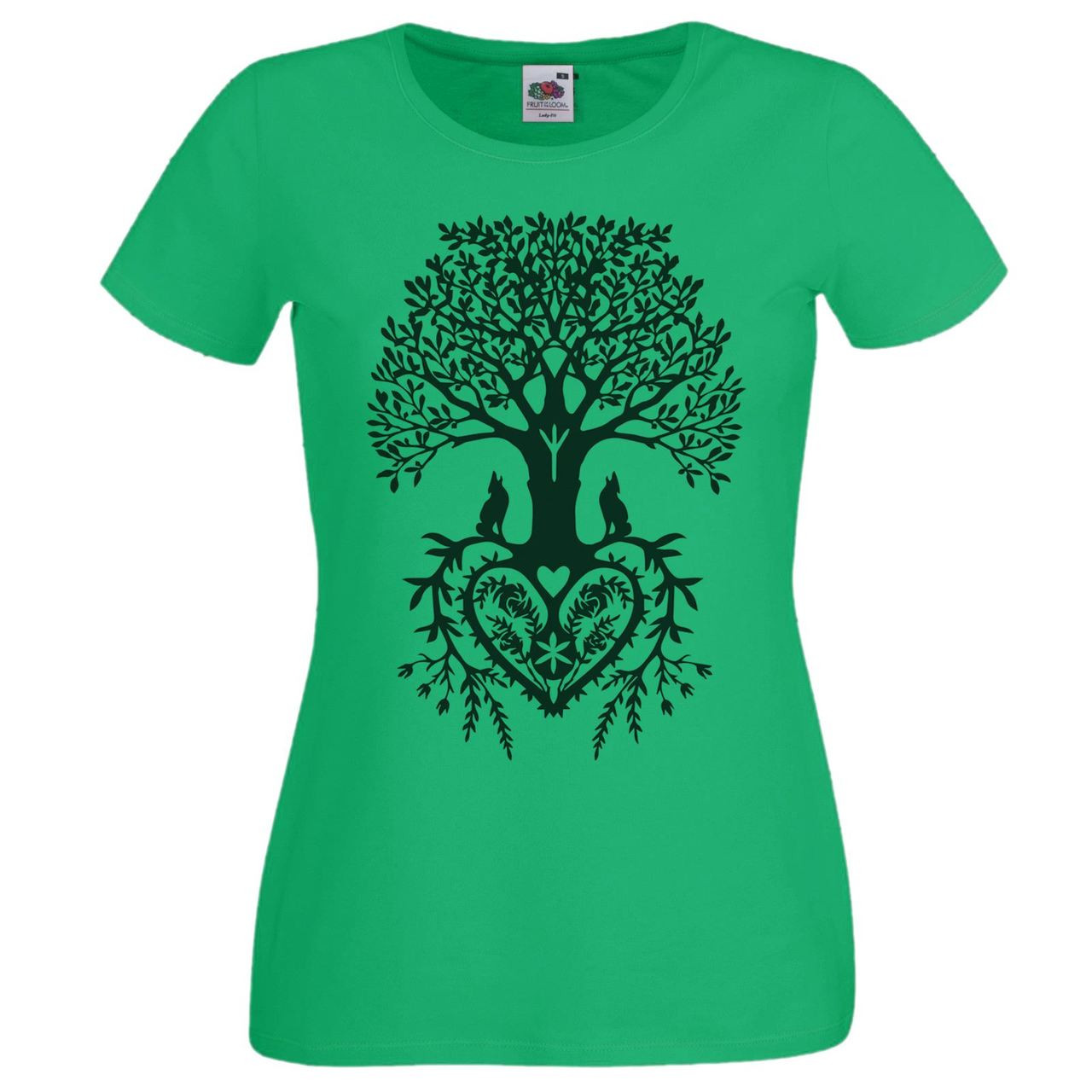 Unisex Olive Green Son Pagan Amulet T-Shirt Shirt Anglo Saxon