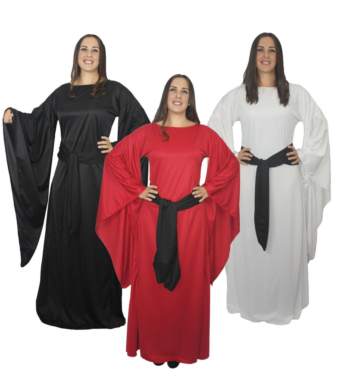 Womens Lady Melisandre Fancy Dress Red Woman Lord Of Light Witch Costume