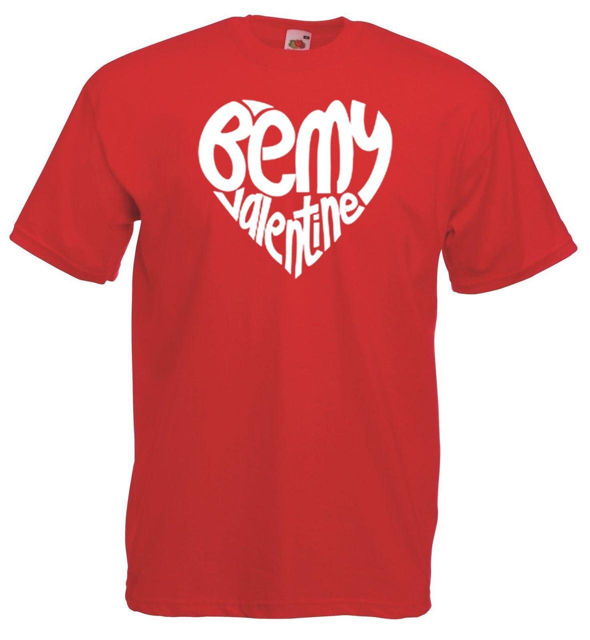f3a76536a0 Unisex Red Be My Valentine T-Shirt Shirt Valentine's Valentines Day Romance  Love