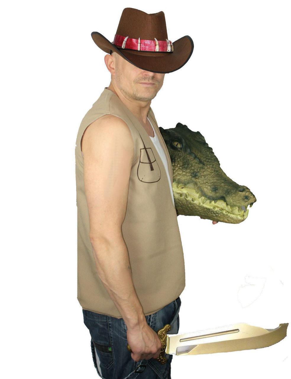 HAT COWBOY W//TEETH ADULT