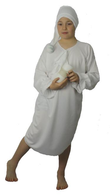 Adults Book Week Wee Willy Winky Night Gown /& Hat Fancy Dress Costume