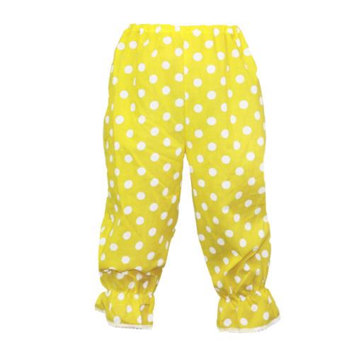 Childrens Polka Dot Rag Doll Panto Clown Bloomers Fancy Dress Frilly Pants