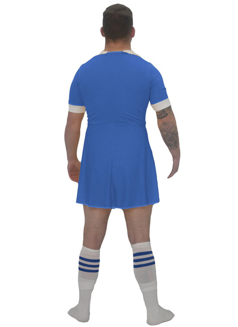 Mens White Rugby Dress All Nations Sports Supporter Funny Stag Party Fancy Dress