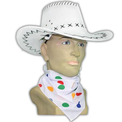 Adults Size Children in Need Polka Dot Milk Maids Mop Hat CIN Accessory