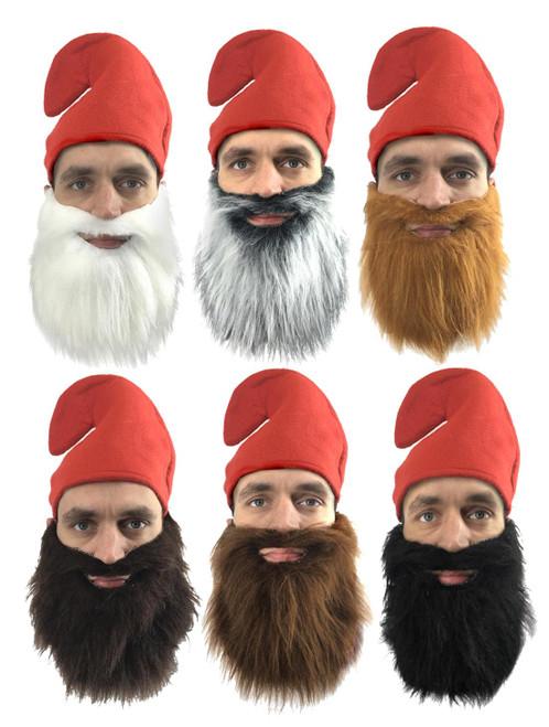 Écossais Rouge Stewart Tartan Tam O Shanter Homme Chapeau Cheveux adultes Kids Fancy Dress