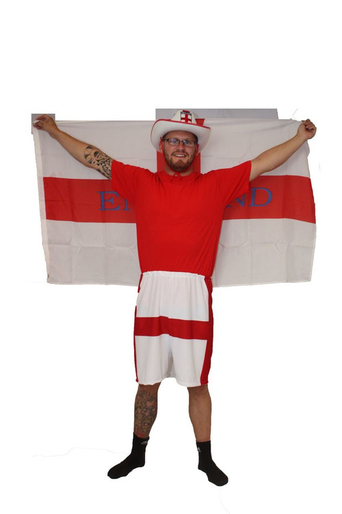 Fancy Dress & Period Costume ENGLAND FLAG ST GEORGE HAT Rugby Adult Fancy Dress Football World Cup 2018 UK