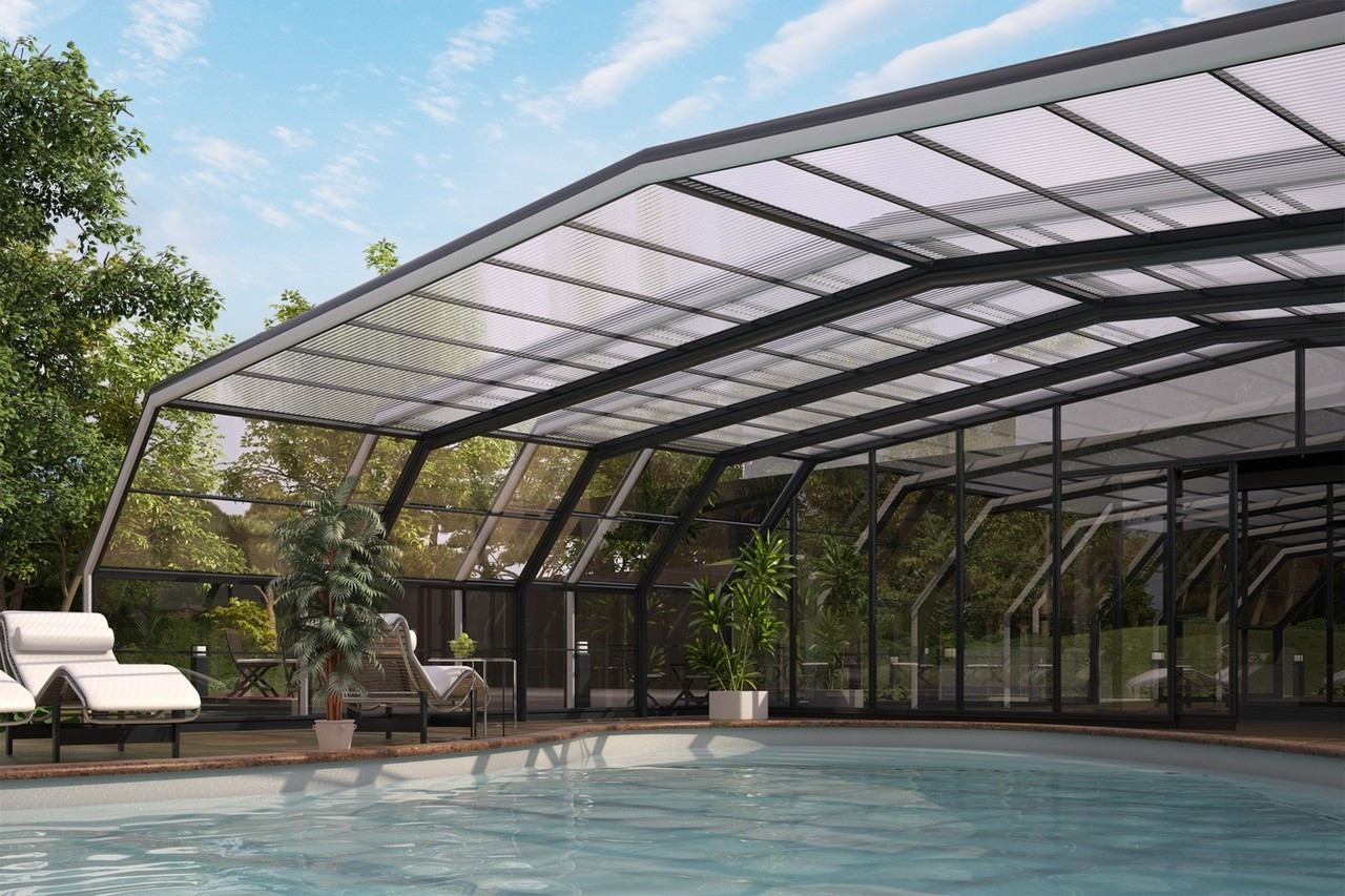 Certikin Telescopic Retractable Commercial Swimming Pool ...
