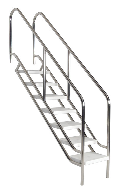 500mm Disabled Access Commercial Pool Stair Ladders