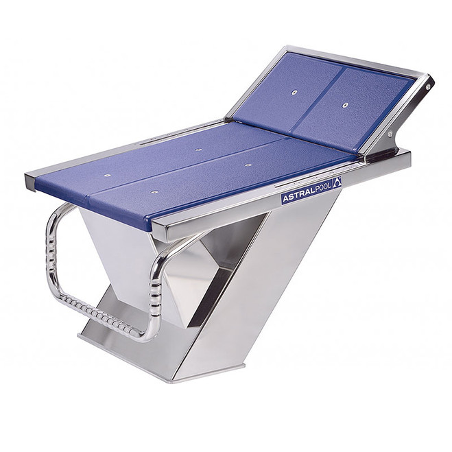 The Astral BCN swimming pool competition standard starting block constructed from AISI-316 stainless steel 53875