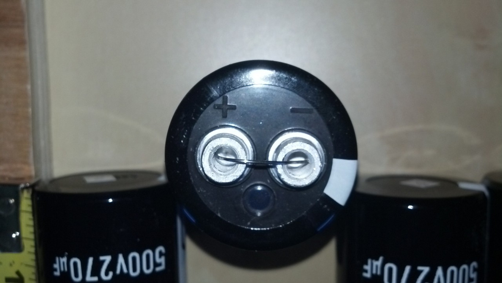 Screw type 500v/270uf capacitor  Ni4L Antenna & Electronics