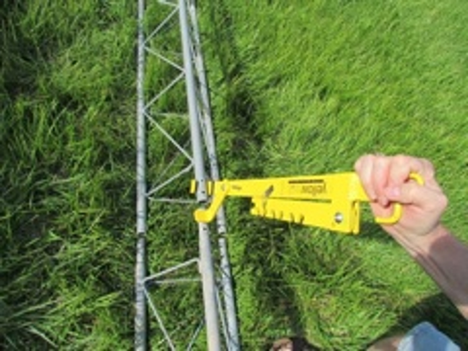 Yellowjack tower tool with lanyard