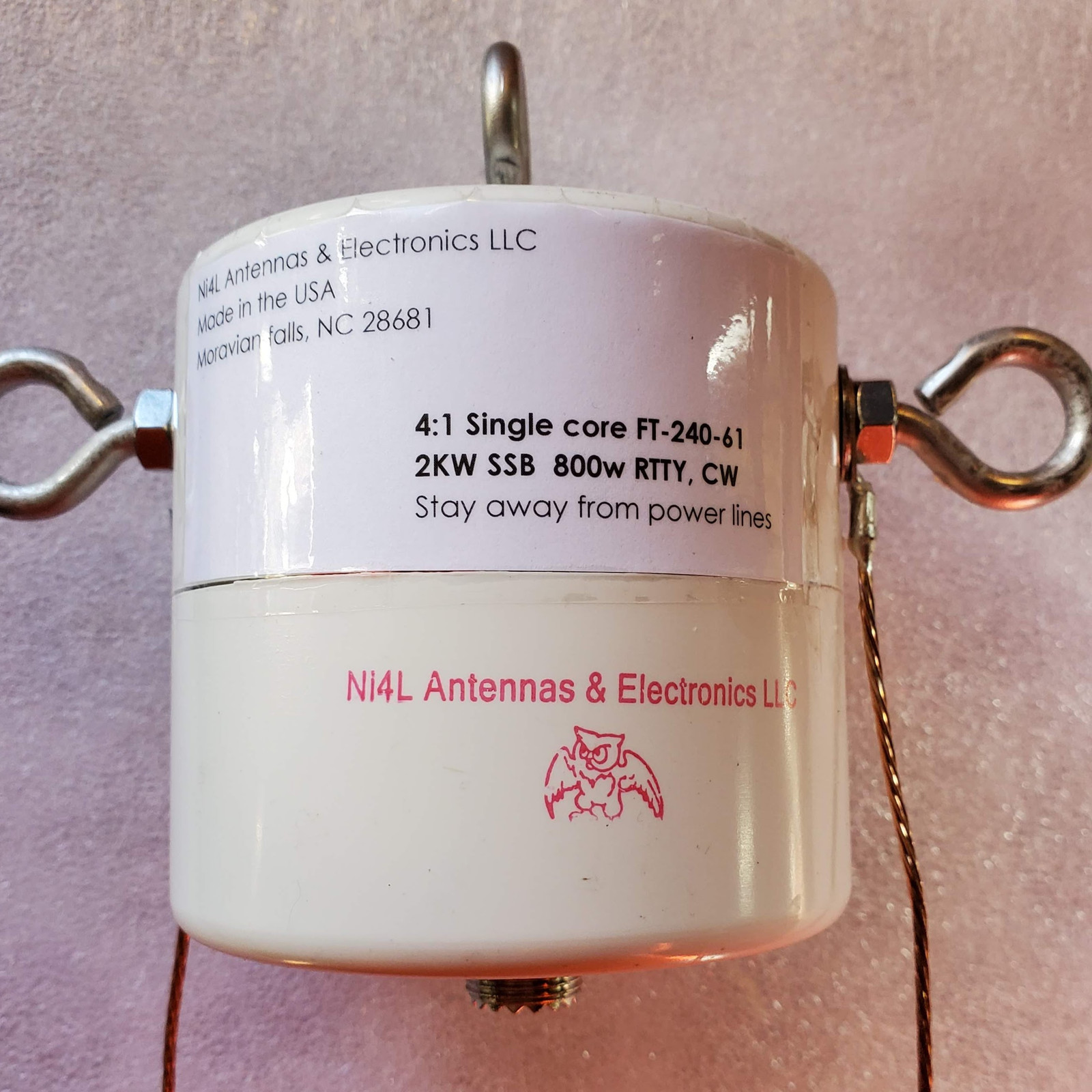 Ni4L 4:1 Current balun SC
