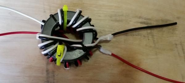 Dual cores straped together OCF Windom dual core flex weave 3KW  Ni4L