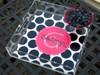 Acrylic Tray- BW Polka Dot