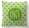 Pillows- Lime Green Bamboo Pipe