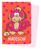 Mini Journals - Hot Pink Monkey