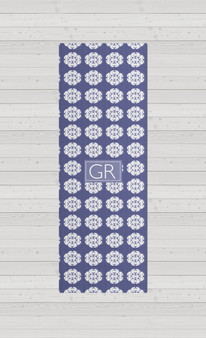 Yoga Mats - Frilly Ika French Blue