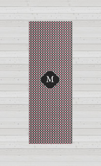 Yoga Mats - Gray Micro Dots