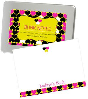 Bunk Notes-Hearts