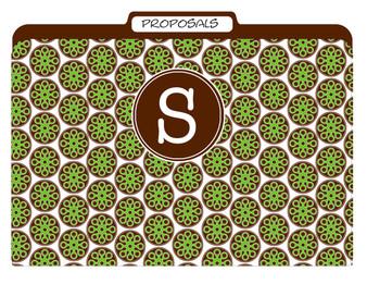 File Folders-Chocolate Pea Prep