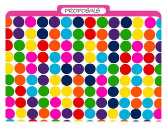 Folders-Crazy Dots