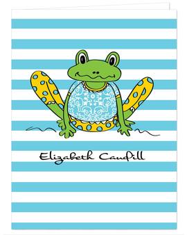 Pocket Folder - Frog