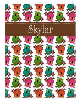 Pocket Folder - Owls