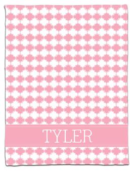 Blanket- Baby Pink Clover
