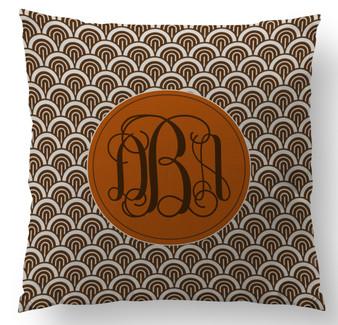 Pillow- Chocolate Waves