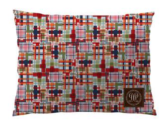 Dog Bed -JP-Madras Plaid