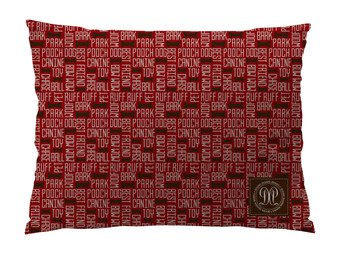 Dog Bed -JP-All About Dogs-Cranberry