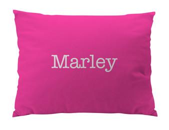 Dog Bed-Hot Pink- Name