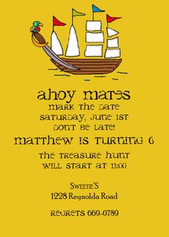 Invitation-Matthew Pirate
