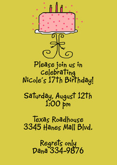 Invitation-Nicole Birthday Cake 2