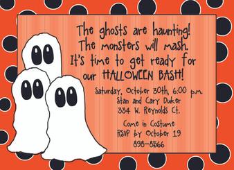 Invitation-Halloween Bash