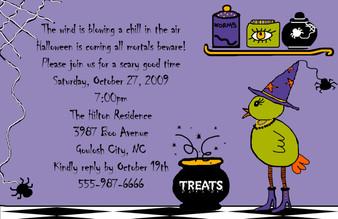 Invitation-Halloween Magic