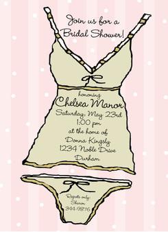 Invitation-Bridal Shower-Lingerie