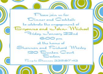 Invitation-Carribean Circles