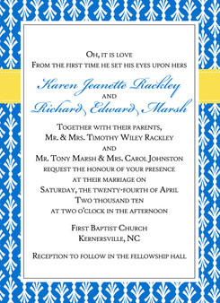 Invitation-French Country