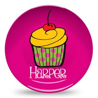 Microwave Safe Dinnerware Plate-Cupcake