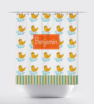 Shower Curtain- Rubber Ducks