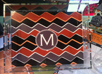 Acrylic Tray- Missoni