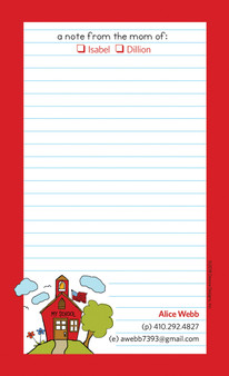 From the Mom Of Family Notepads
