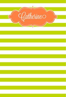 Fat Pad-Grass Stripes